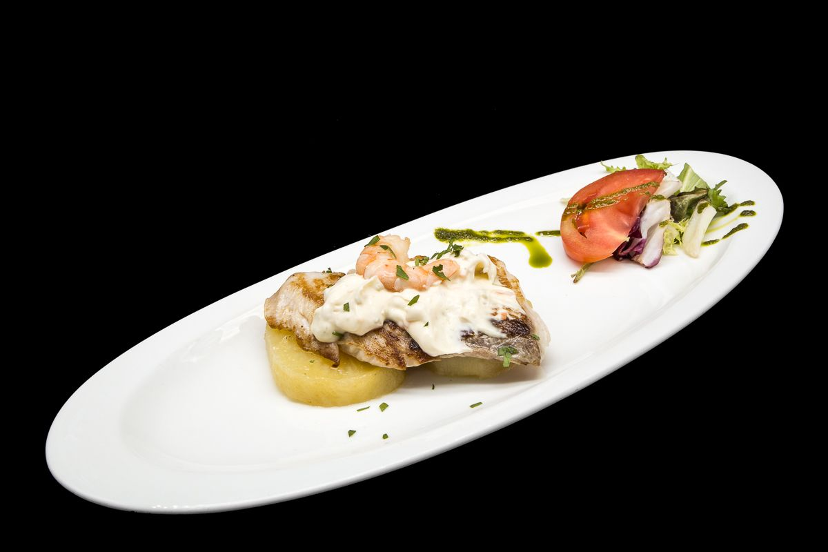 Corvina in house sauce
