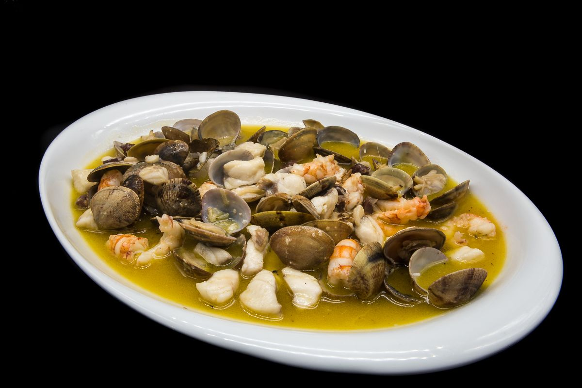 Clams with homemade stew